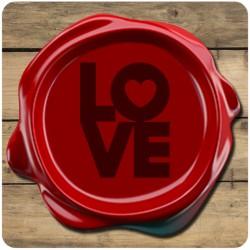 Sello de Lacre Love - Modelo 25