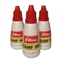 Tinta para sellos - Bote color rojo