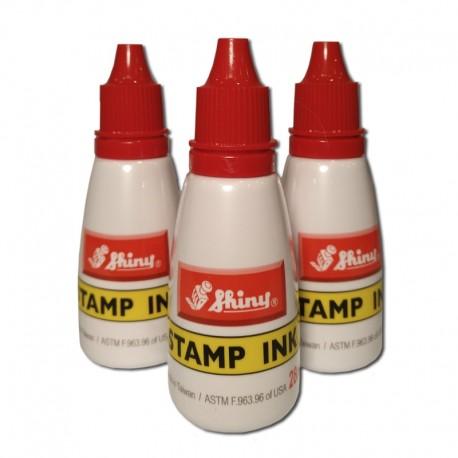 Bote de tinta para sellos - Color Rojo