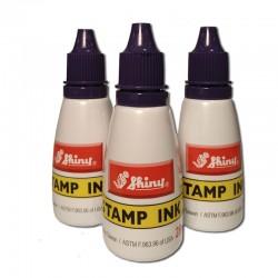 Tinta para sellos - Bote color violeta