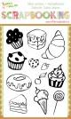 Sellos scrapbooking dulces deseos